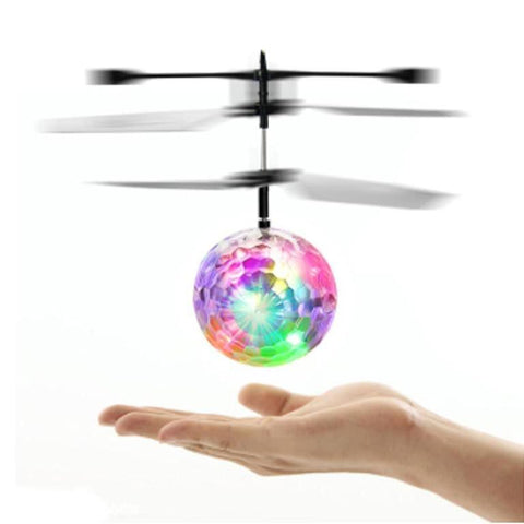 Heliball Flying Ball RC Infrared Toy Flashing Light