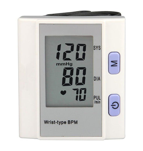 Wrist-Type Fully Automatic Blood Pressure Monitor