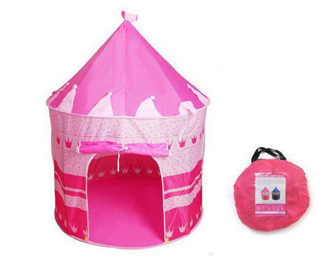 Kids Castle Cubby House Play Tent