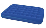 Bestway - Flocked Double Airbed - Blue