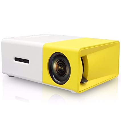 Portable HD LED Projector Laptop Home Cinema Theatre