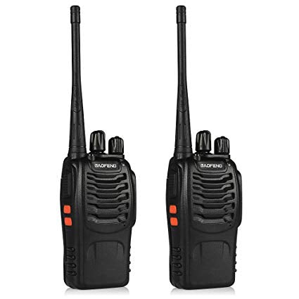 promotion 2 X Two-way Radios Transceiver Handheld Interphone/ Walkie Talkie