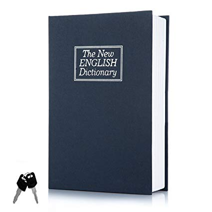 Dictionary Book Safe Small - Blue