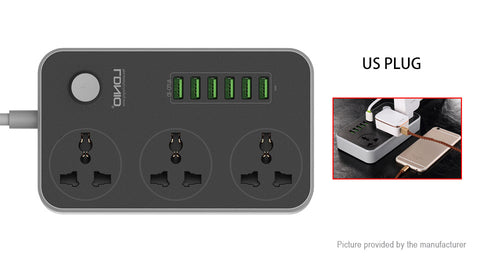LDNIO 6 Port USB Travel Charger