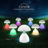 Colourful Mushroom Led Table Bedside Lamp