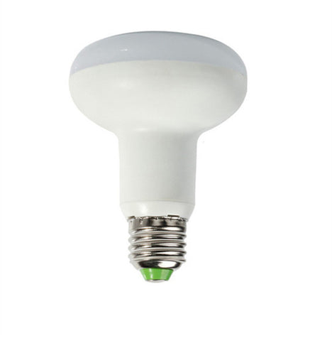 8W Led Mushroom Light E27 - White Pack of 5