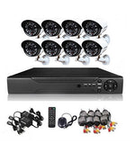 8 Channel cctv camera system - Perfect security cameras with internet & phone viewing