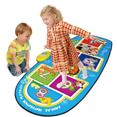 AT Animal Hopscotch Music Mat