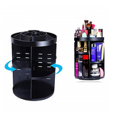COSMETIC ORGANIZER 360 ROTATION-Black