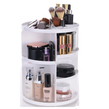 Cosmetic Organizer 360 Rotation-White
