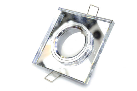 Glass Down Light Fitting Square