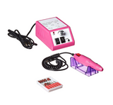 Electric Drill Nail Art Machine Manicure and Pedicure Set -Pink