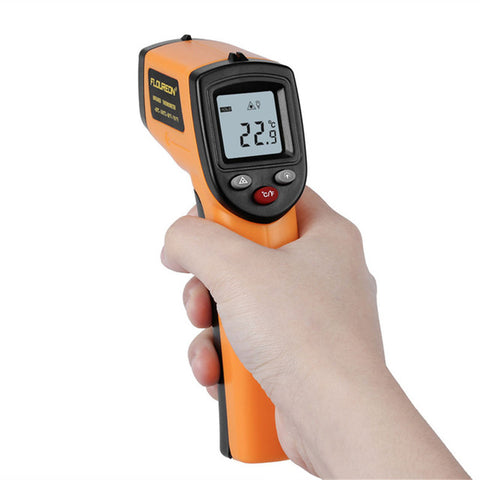 LCD Digital IR Infrared Non-Contact Thermometer Temperature Meter Gun Point