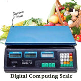 Food Meat Produce Weighing Weigh Digital Price Computing Scales 5g to 40kg Digital Price Computing Scale