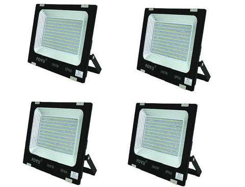 Set of 4 - 100w High Power Limited Edition IP66 Led Flood Light