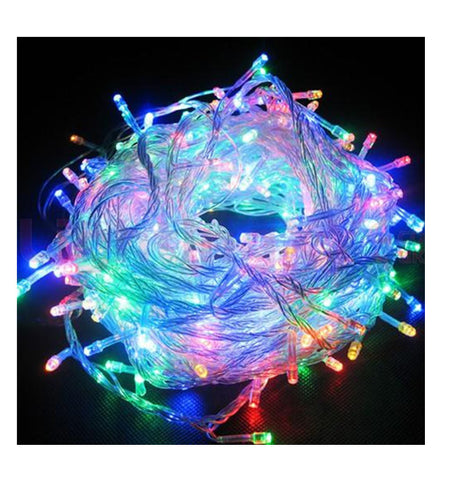 Multicolor LED String Decorative Wedding Christmas Party Fairy Lights 10M/20M (Extendable)