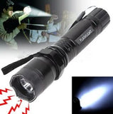 Police Type Self-Defensive LED Torch + Stun Gun