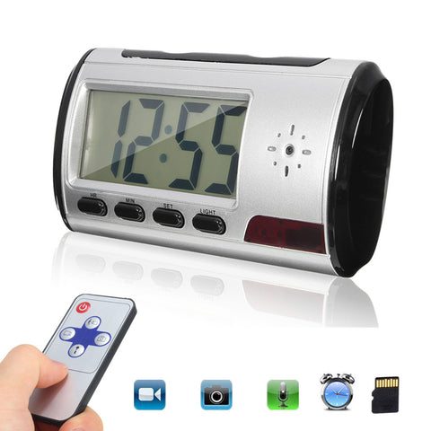Nanny Cam, Hidden Camera Clock