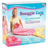 Snuggie Tails Mermaid Blanket for Kids -  Pink