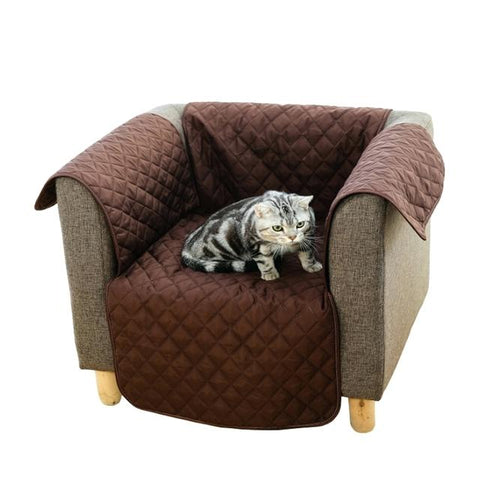Pet Protective Reversible Single Seat Couch Cover