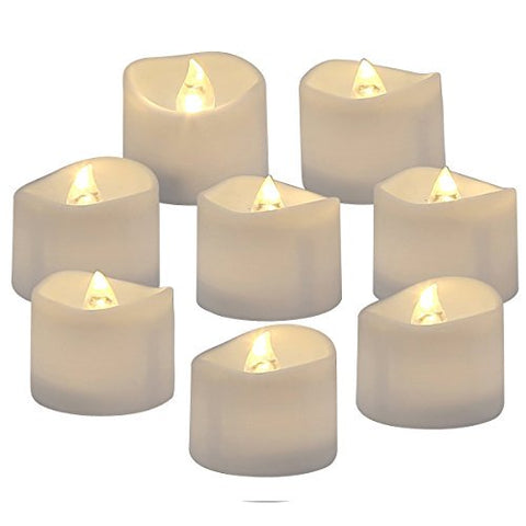 Electric Tealight Candles - 24 Pack