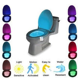 Motion Sensor LED Toilet Night Light (8 Colour Activated)
