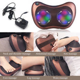 Heat Therapy Massaging Pillow