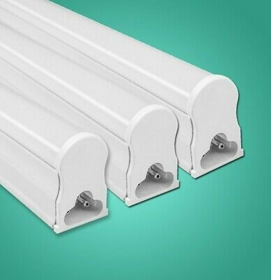 10W 60cm T5 2 Foot 220V LED Tube with Fitting - Frosted White
