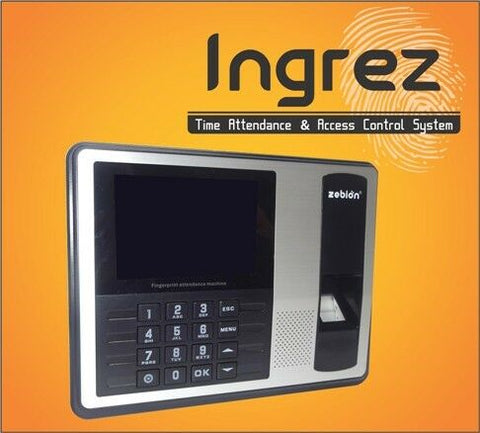 IronClad Fingerprint Time Attendance Machine System with U-Disc