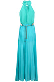 Dorothy Maxi Dress With Gold Belt