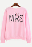 CANDY MRS. PRINT SWEATSHIRT RTS