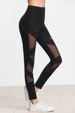 ALL OVER MESH INSERT LEGGINGS