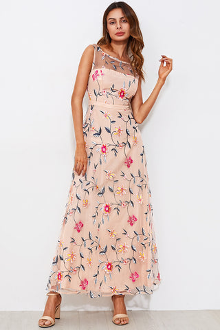 FLORAL RUFFLE ASYMMETRIC DRESS RTS