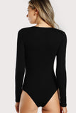 CUT OUT LONG SLEEVE BODYSUIT