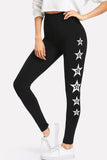 STAR PRINT SIDE LEGGINGS