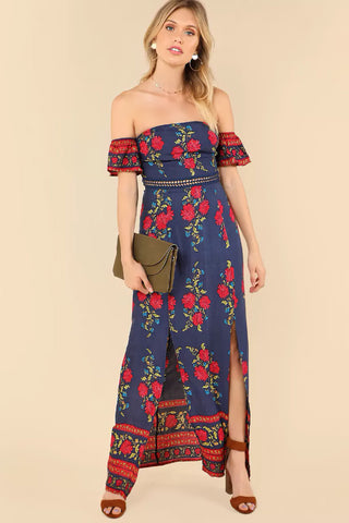 DELIA CHIFFON MAXI DRESS
