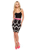 Blurred Lines Bodycon Skirt
