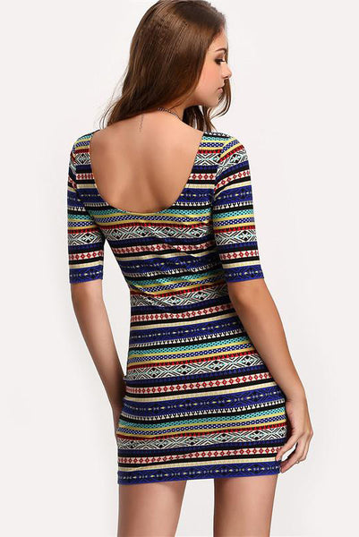 Kylie Multi Bodycon Dress