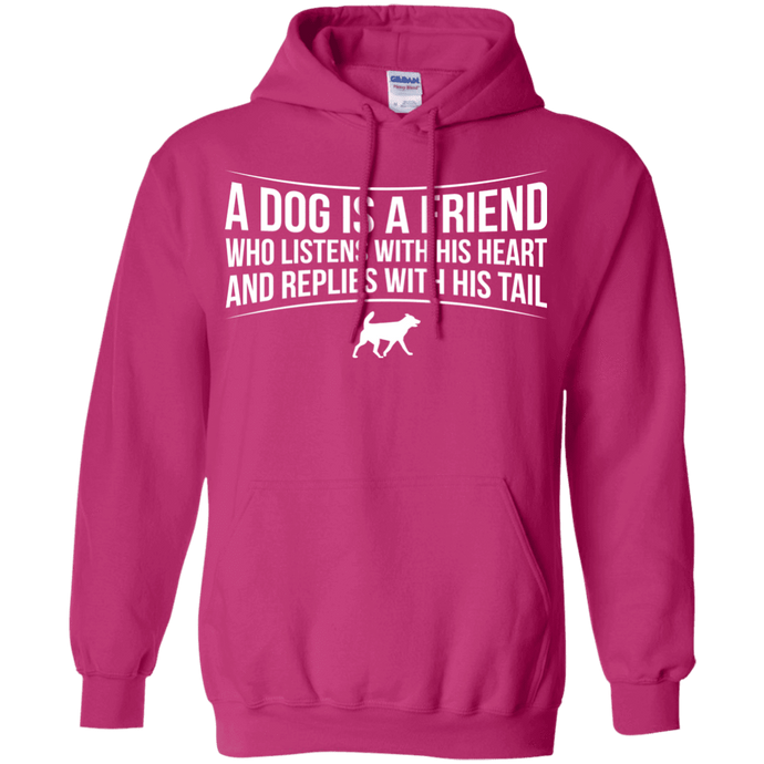 A Dog Is A Friend - Hoodie Rescuers Club