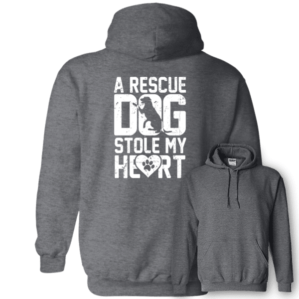 A Rescue Dog Stole My Heart - Hoodie Rescuers Club