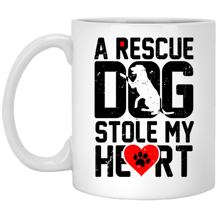A Rescue Dog Stole My Heart - Mugs Rescuers Club