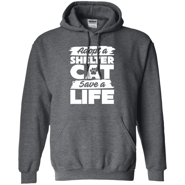 Adopt A Shelter Cat - Hoodie Rescuers Club