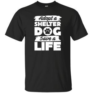 Adopt A Shelter Dog - T Shirt Rescuers Club