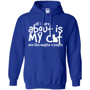 All I Care About Is My Cat - Hoodie Rescuers Club