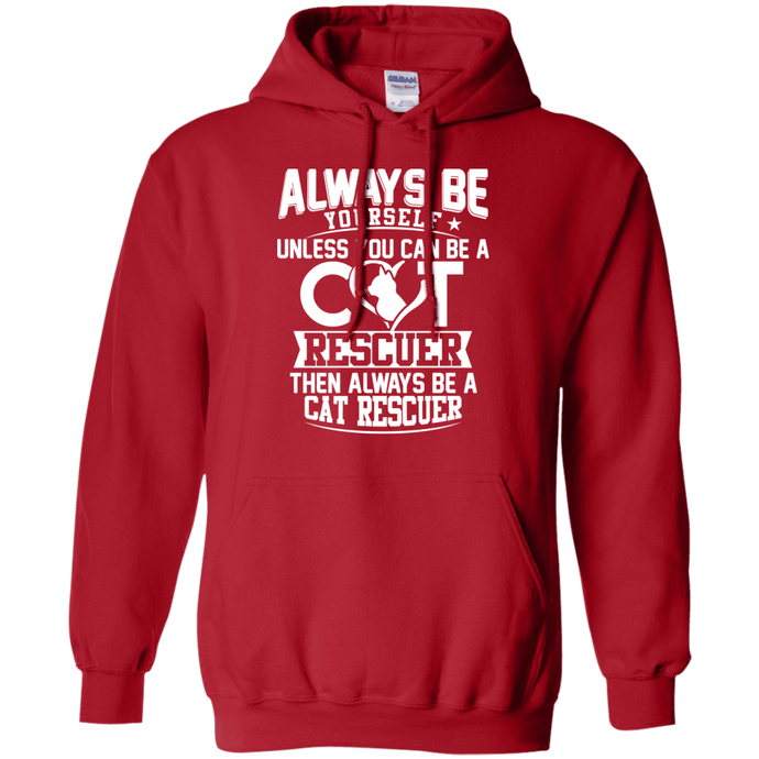 Always Be A Cat Rescuer - Hoodie Rescuers Club