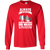 Load image into Gallery viewer, Always Be Nice To a Dog Walker - Long Sleeve T Shirt Rescuers Club
