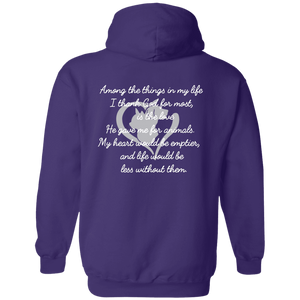Among The Things In Life God - Hoodie Rescuers Club