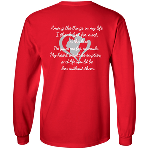 Among The Things In Life God - Long Sleeve T Shirt Rescuers Club