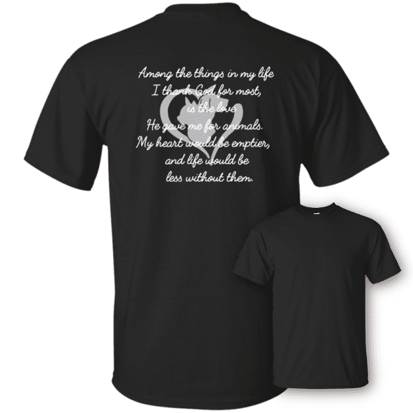 Among The Things In Life God - T Shirt Rescuers Club