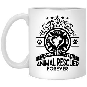 Animal Rescuer Forever - Mugs Rescuers Club